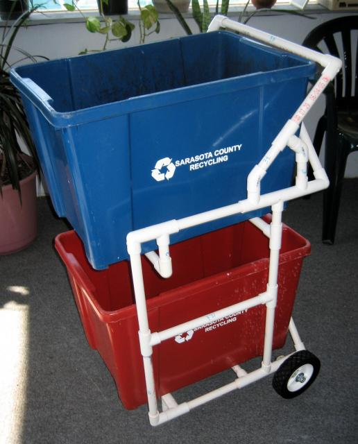 Shallow Leisure My Diy Recycle Bin Cart